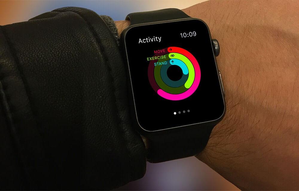 Apple Watch on male Wrist Mockup