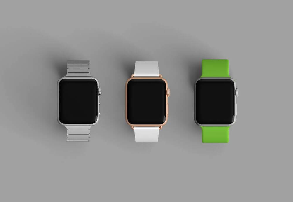 Apple Watch Models Mockups