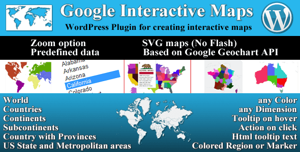 Google Interactive Maps