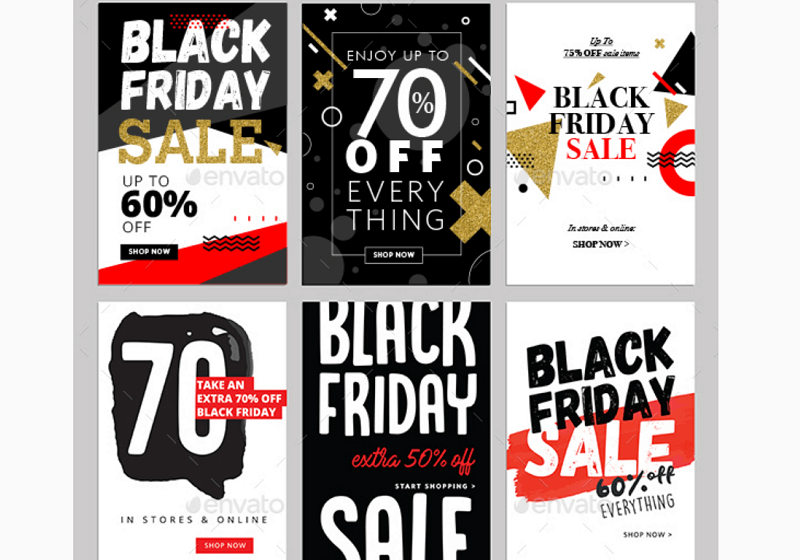 Black Friday Sales Banners