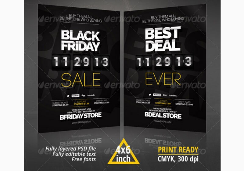 Black Friday, Deal Flyer
