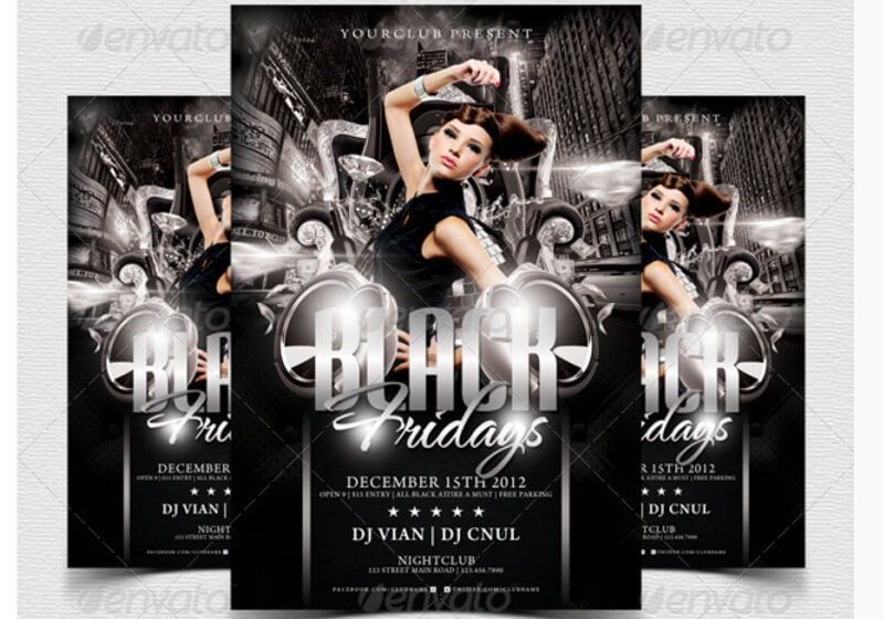Black Fridays Flyer Template