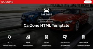 Automobile Html Website Templates