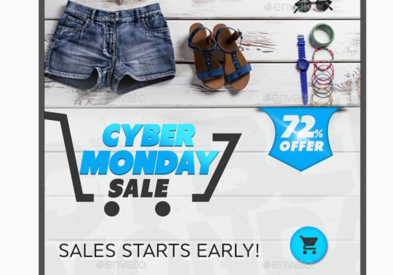 Cyber Monday Banners