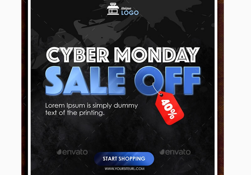 Cyber Monday Banners Instagram