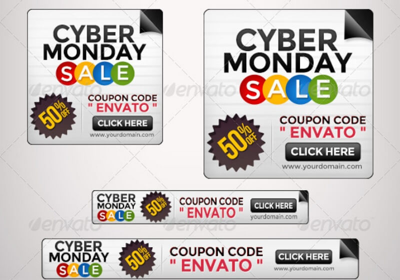 Cyber Monday Banners - Set I