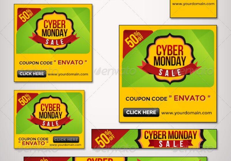 Cyber Monday Banner Set II