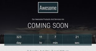 Free Coming Soon HTML Templates