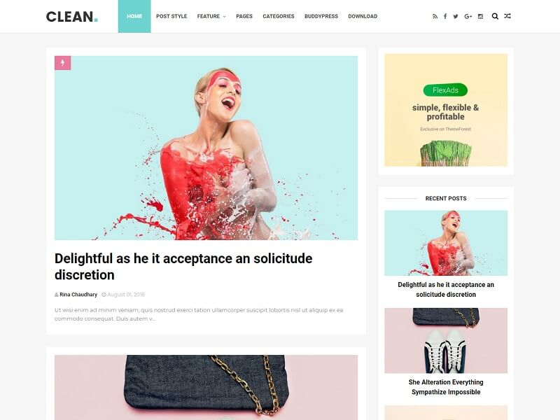 Clean Minimal Blogger Template Is A Minimalist And Simple Blogspot Theme.  It Is A Responsive Template That Features An Engaging Design That Is Fully  Fluid ...