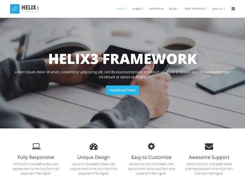 30+ Best Free Joomla Templates And Themes 2019