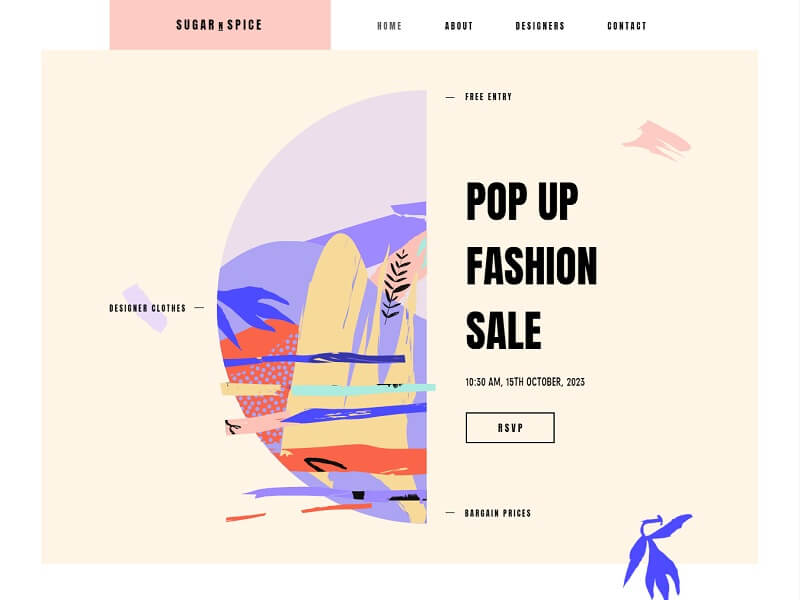 Pop Up Fashion Store