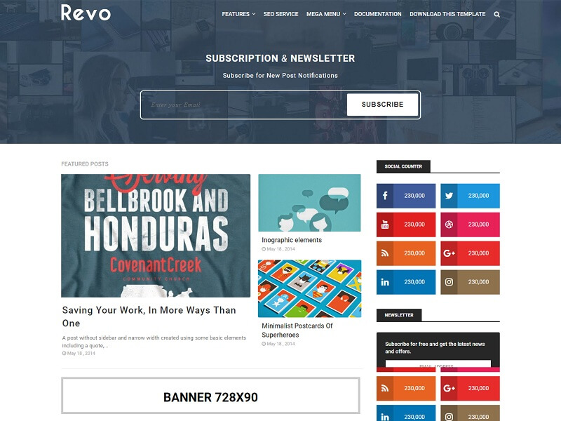 30 best free responsive blogger templates 2018 revo simple blogger template is a dynamic fast responsive magazine and blog blogspot theme it is suitable for wide range of magazineblog niches such as maxwellsz
