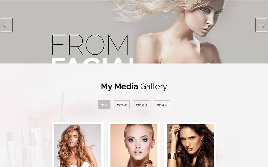 Beauty Services Stylish