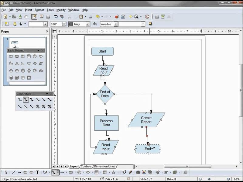 LibreOffice - Draw