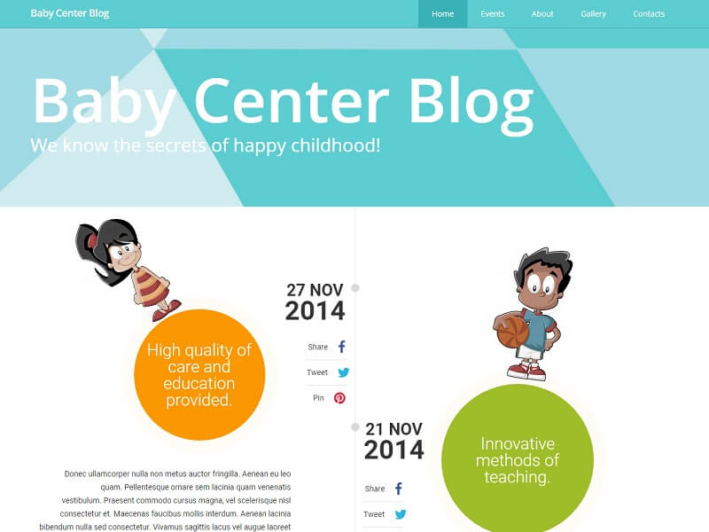 Baby Center Blog