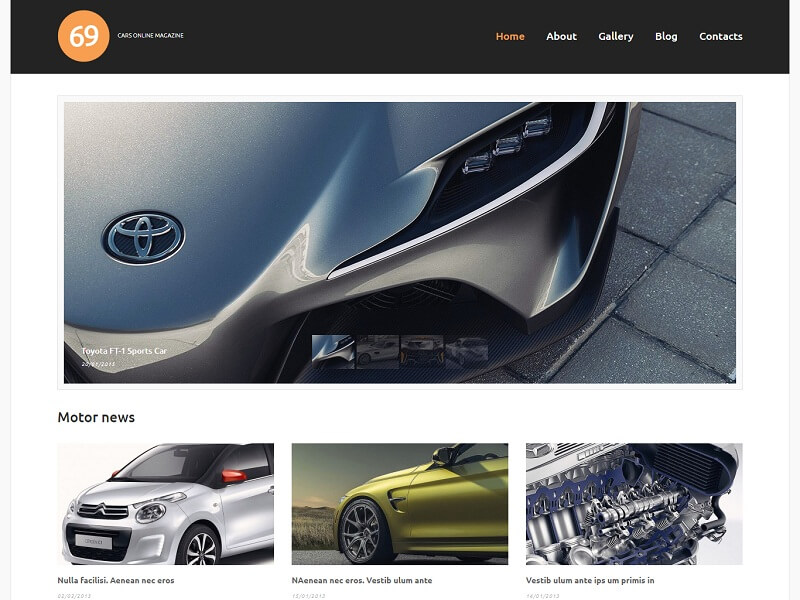 Cars Online Magazine
