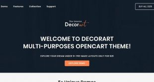 Culture OpenCart Website Templates
