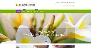 Flowers Shopify Website Templates