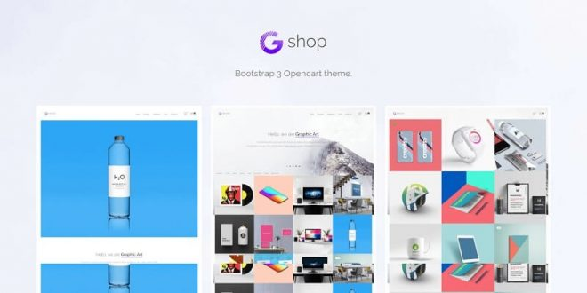 Photography OpenCart Website Templates