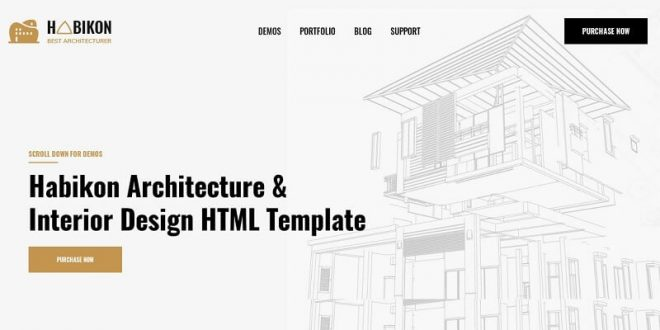 Architecture HTML Website Templates