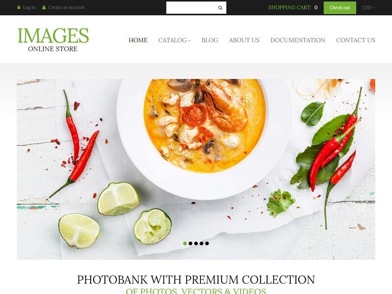 Images Online Store