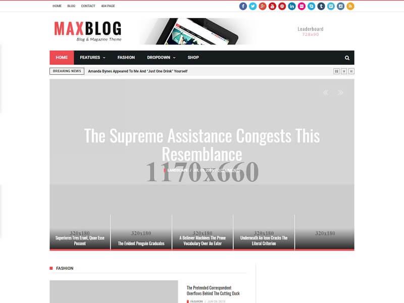 MaxBlog