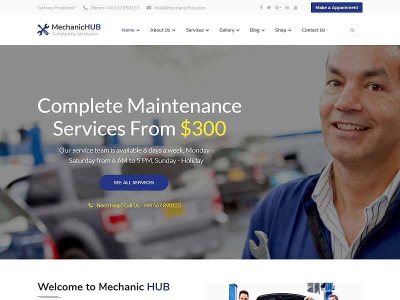 Mechanic HUB