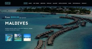 Travel Joomla Website Templates