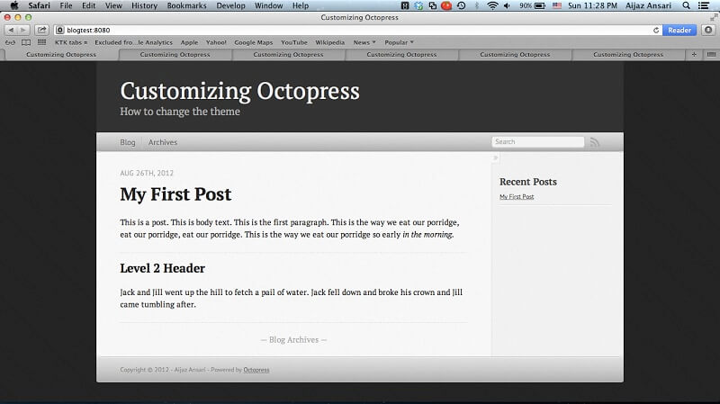Octopress