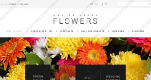 Gifts & Flowers Html Website Templates