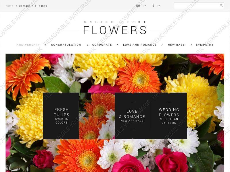 Online Store Flowers
