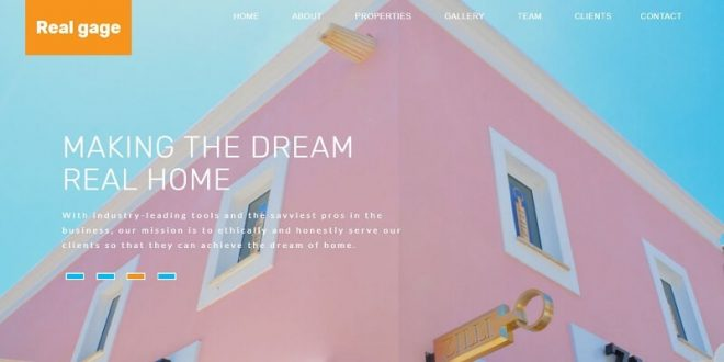 20 Best Free Real Estate Html Website Templates 2020 Free Download