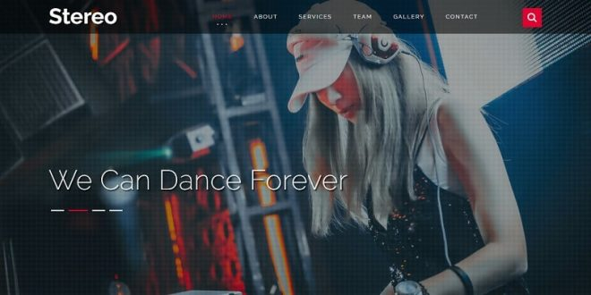 Free Night Club Html Website Templates
