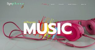 Free Music Html Website Templates
