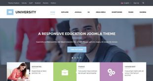 Books Joomla Website Templates