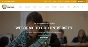 Education Html Website Templates