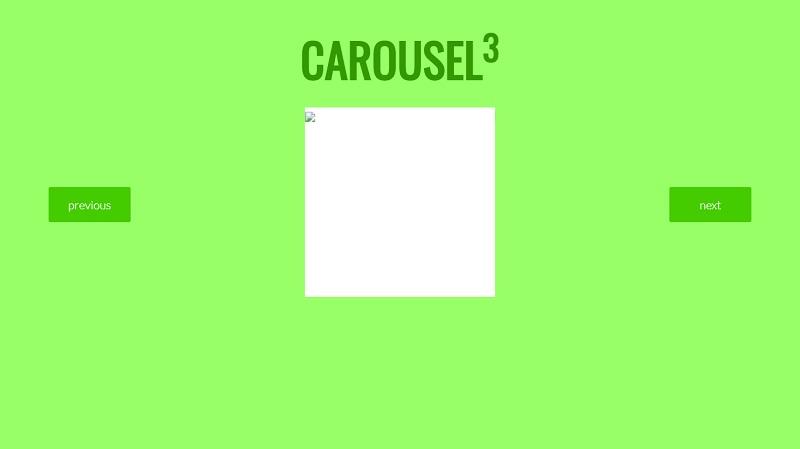 3D Cube Carousel