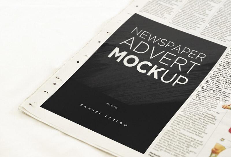 6 Newspaper Advert