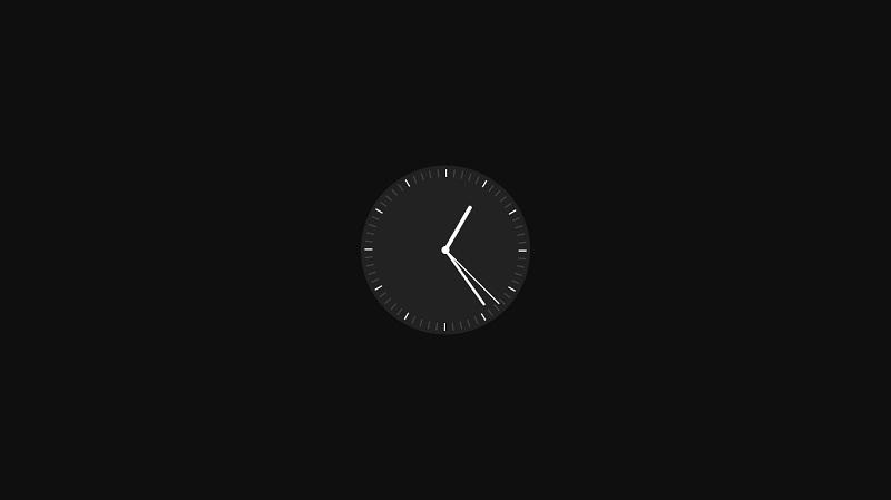A Css* Clock