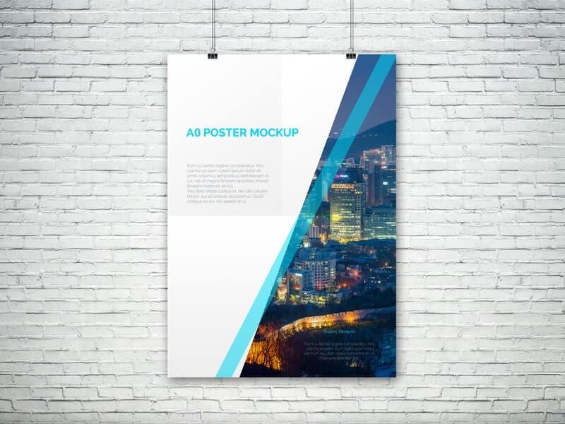 A0 PSD Poster