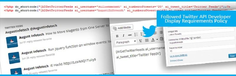 AI Twitter Feeds