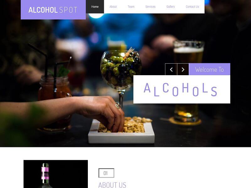 Alcohol Spot