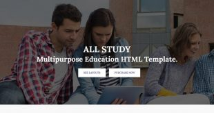 Study Html Website Templates