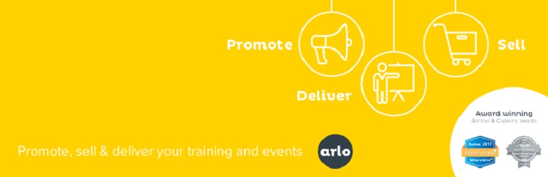 Arlo training and event management system