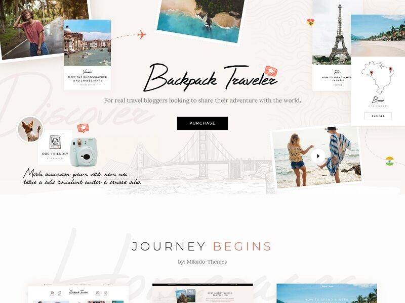 Backpack Traveler
