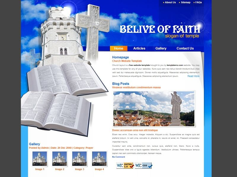 Belive Of Faith