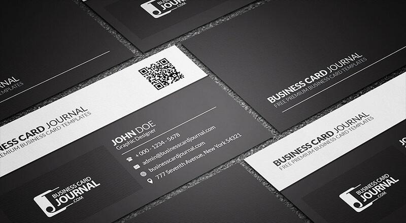 Black & White QR Code