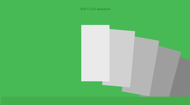 Bolt UI Kit Animation