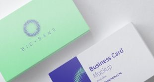 Free Business Card PSD Mockups
