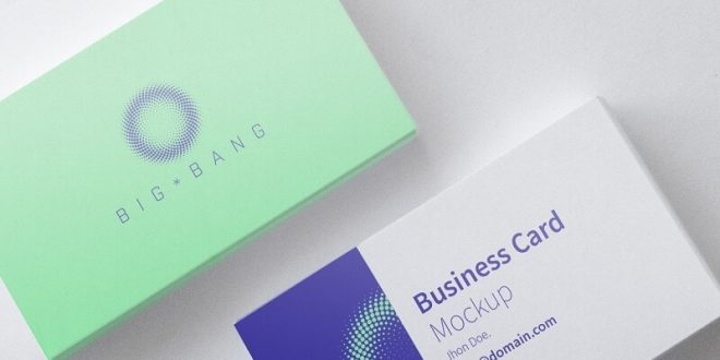 20+ Best Free Business Card PSD Mockups 2020